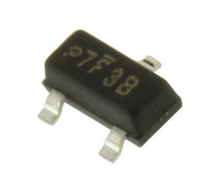 Vishay , 24V Zener Diode 2% 300 mW SMT 3-Pin SOT-23 (250)