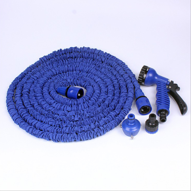 25ft Expandable Triple Layer Latex Core Garden Hose