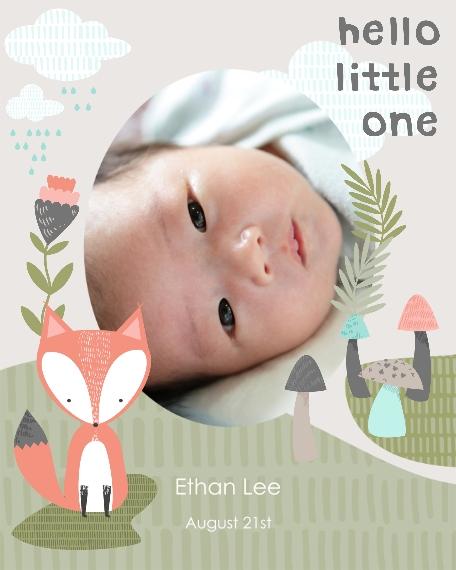 Baby + Kids 8x10 Designer Print - Glossy, Prints -Hello LittleFox
