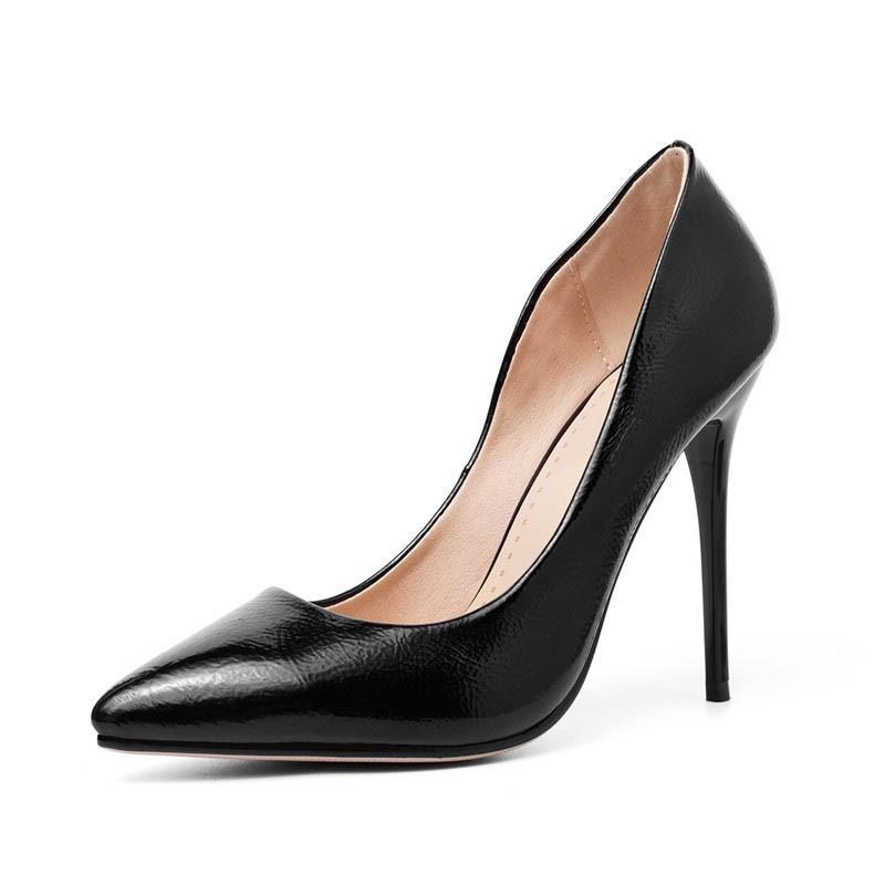 Ericdress Stiletto Heel Pointed Toe Slip-On Casual Pumps
