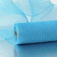 Vivid Turquoise Deco Mesh - 21 X 10 Yards - Polypropylene / Cellophane - Wraps by Paper Mart