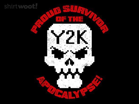 Y2k Survivor T Shirt