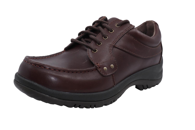 Dansko Men's Wyatt Full Grain Mocha Ankle-High Leather Loafers & Slip-On - 11M