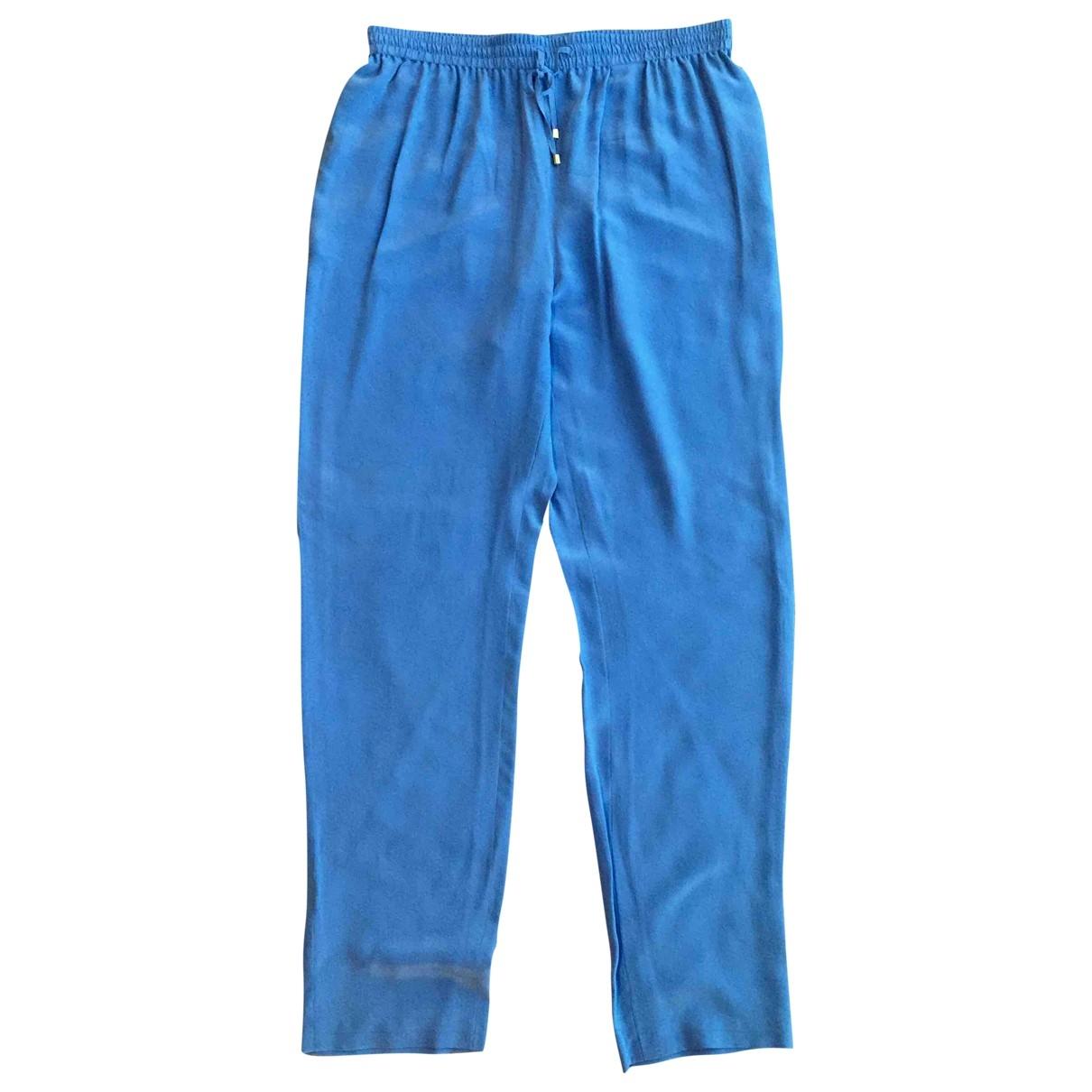 Parosh \N Silk Trousers for Women 44 IT