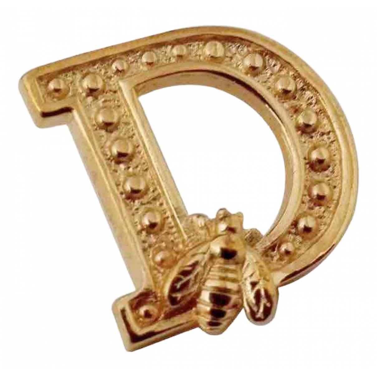 Dior Monogramme Gold Gold plated Pins & brooches for Women \N