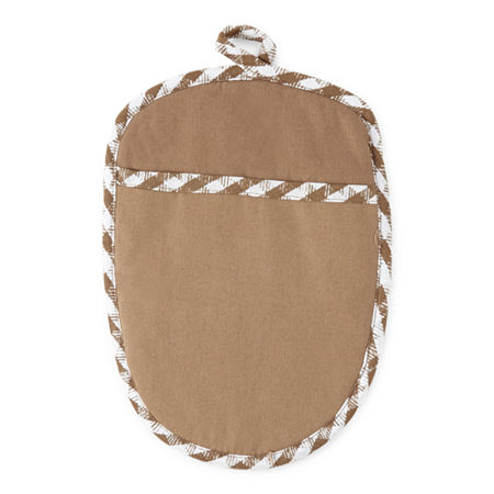 Homewear 2-pc. Pot Holders, One Size , Brown