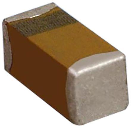 AVX Tantalum Capacitor 4.7μF 6.3V dc Electrolytic Solid ±10% Tolerance , TAC (500)
