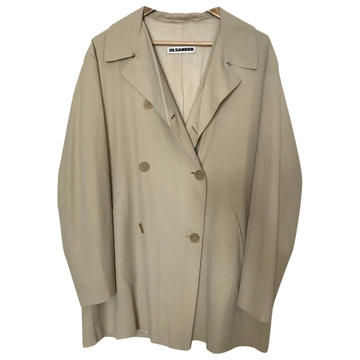 Jil Sander \N Beige coat for Women 40 FR