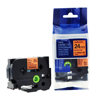 Compatible Brother TZeB51 Label Tape, 24mm (0.94