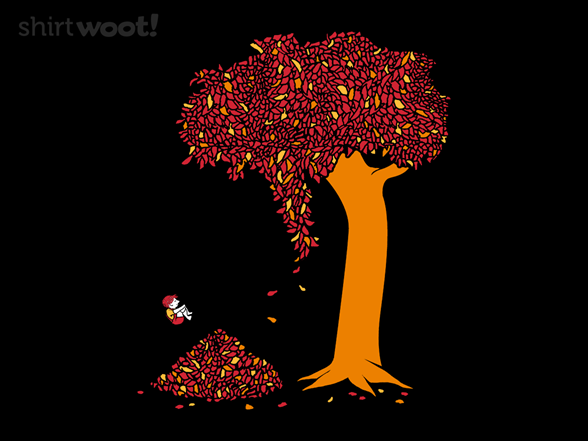 And The Tree Was Happy T Shirt