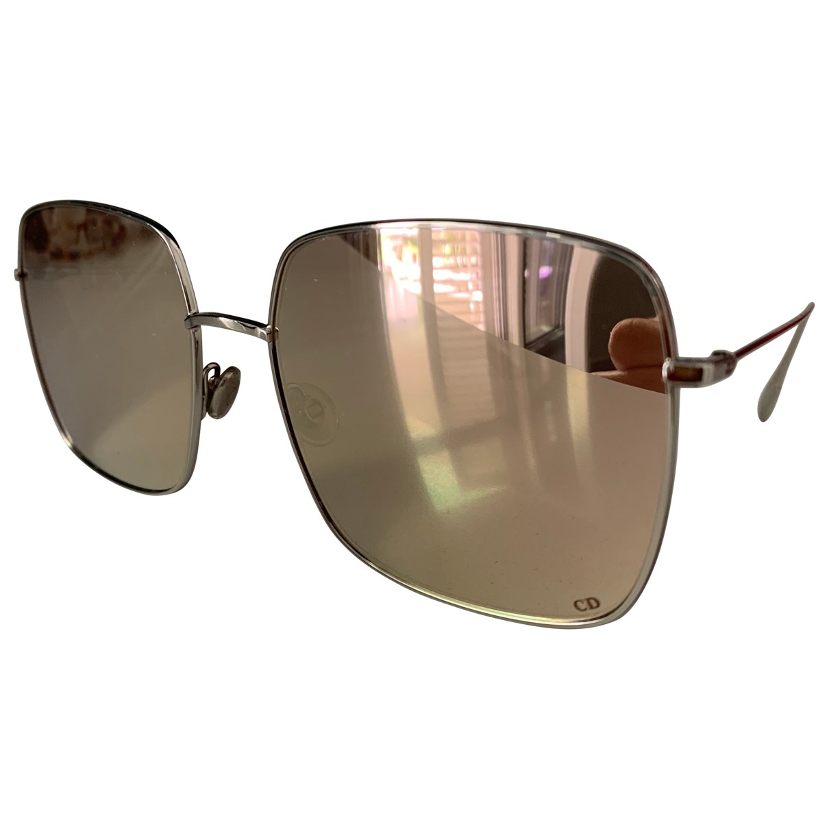 Dior Stellaire 1 Silver Metal Sunglasses for Women \N