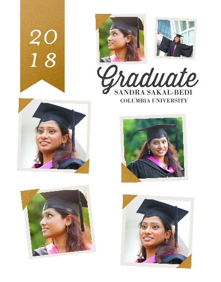 Graduation 11x14 Poster(s), Board, Home Décor -Framed Graduate