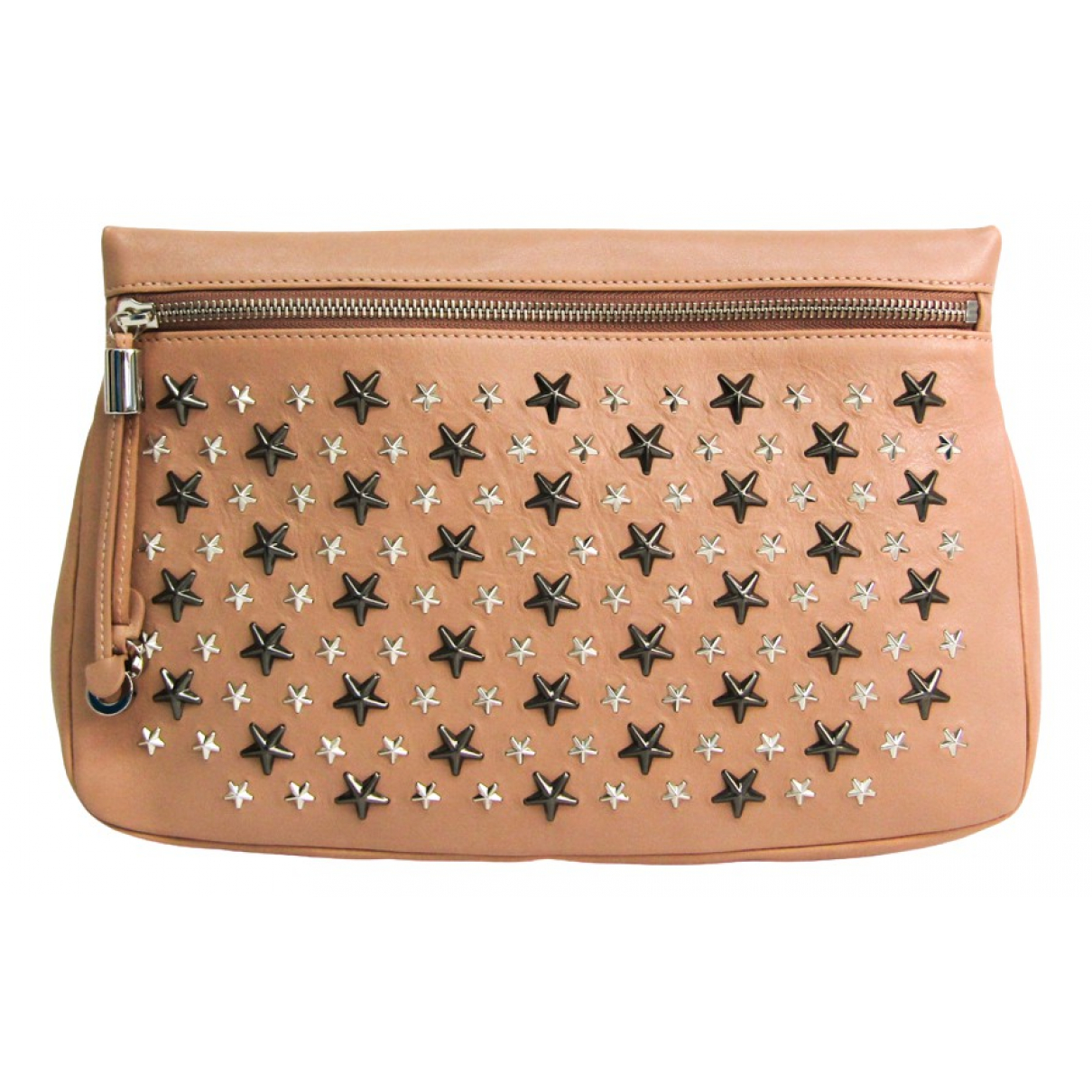 Jimmy Choo \N Pink Leather Clutch bag for Women \N