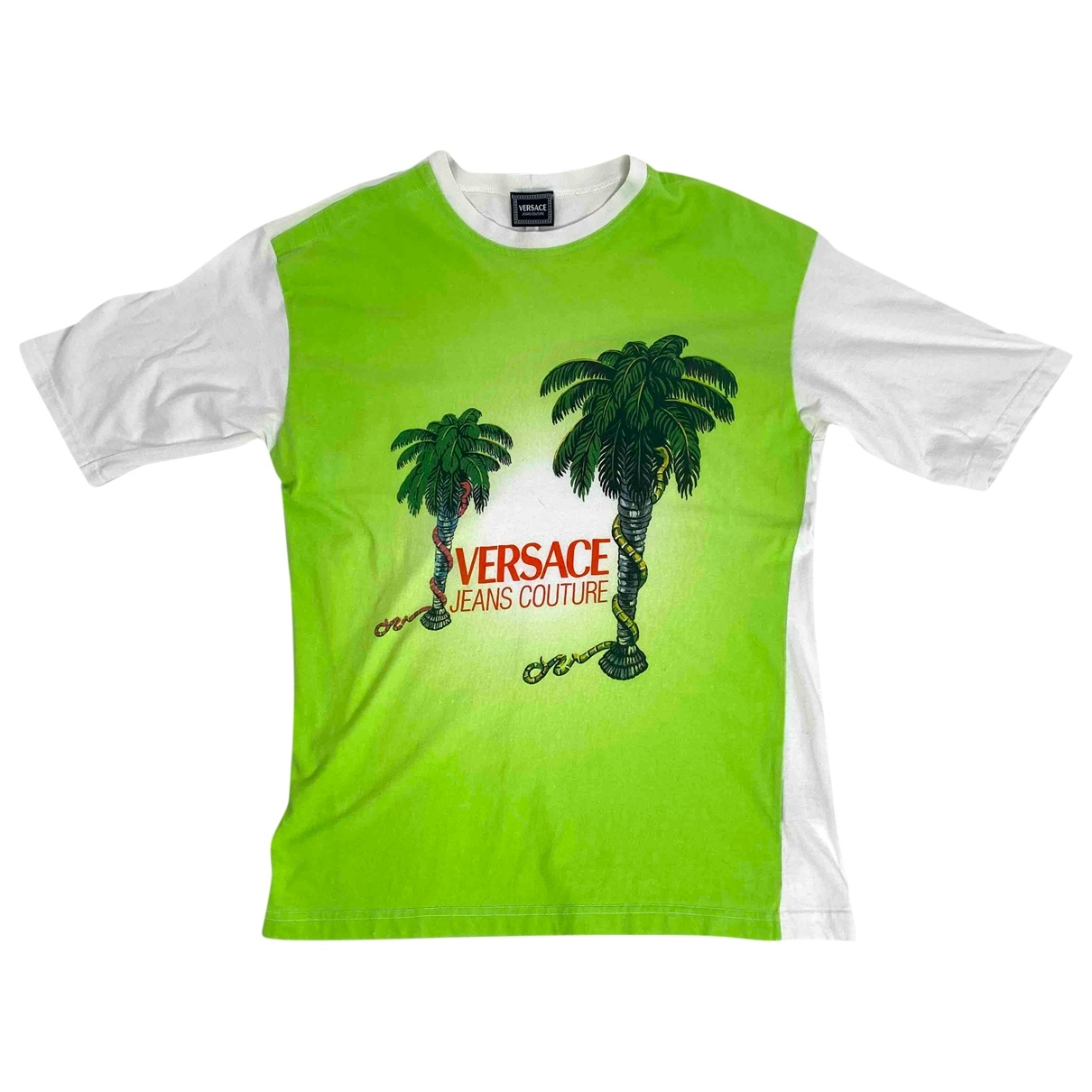 Versace \N Green Cotton T-shirts for Men M International