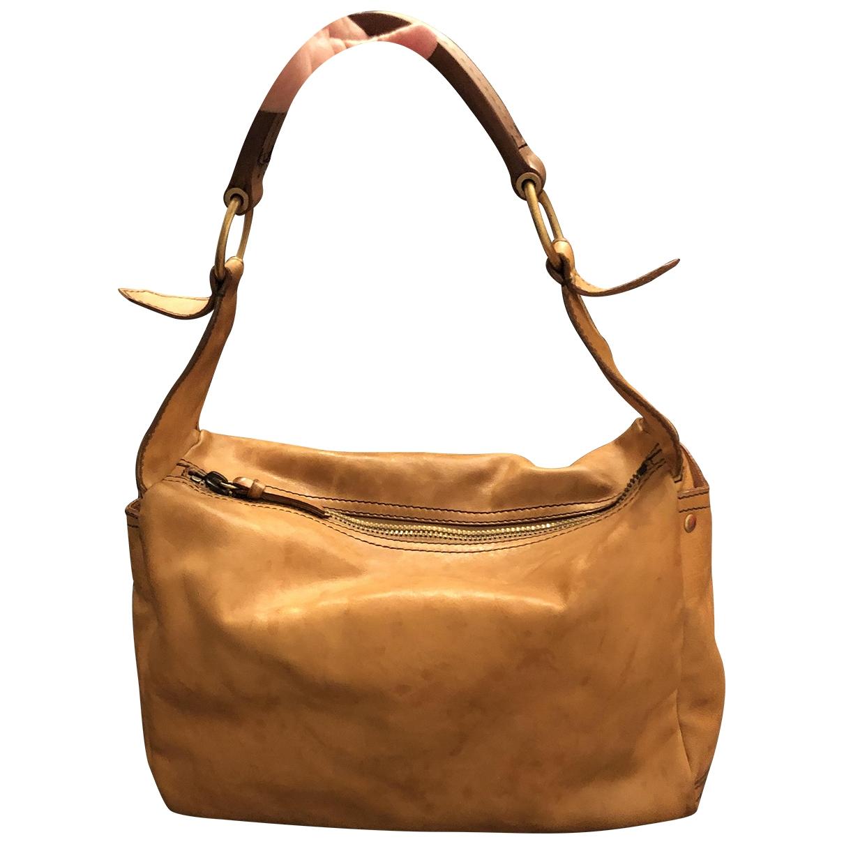 Miu Miu \N Orange Leather handbag for Women \N