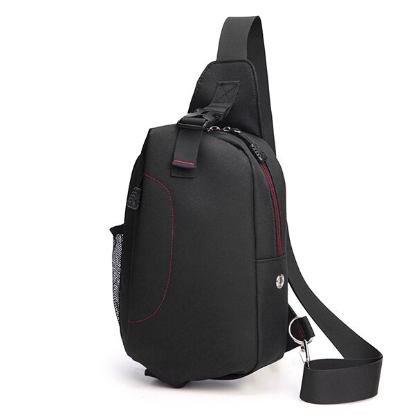 Men Canvas Casual Outdoor Sport Multi-functional Shoulder Crossbody Bag