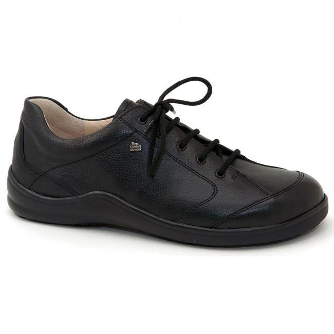 Finn Comfort Cusco Black Leather Soft Footbed 36