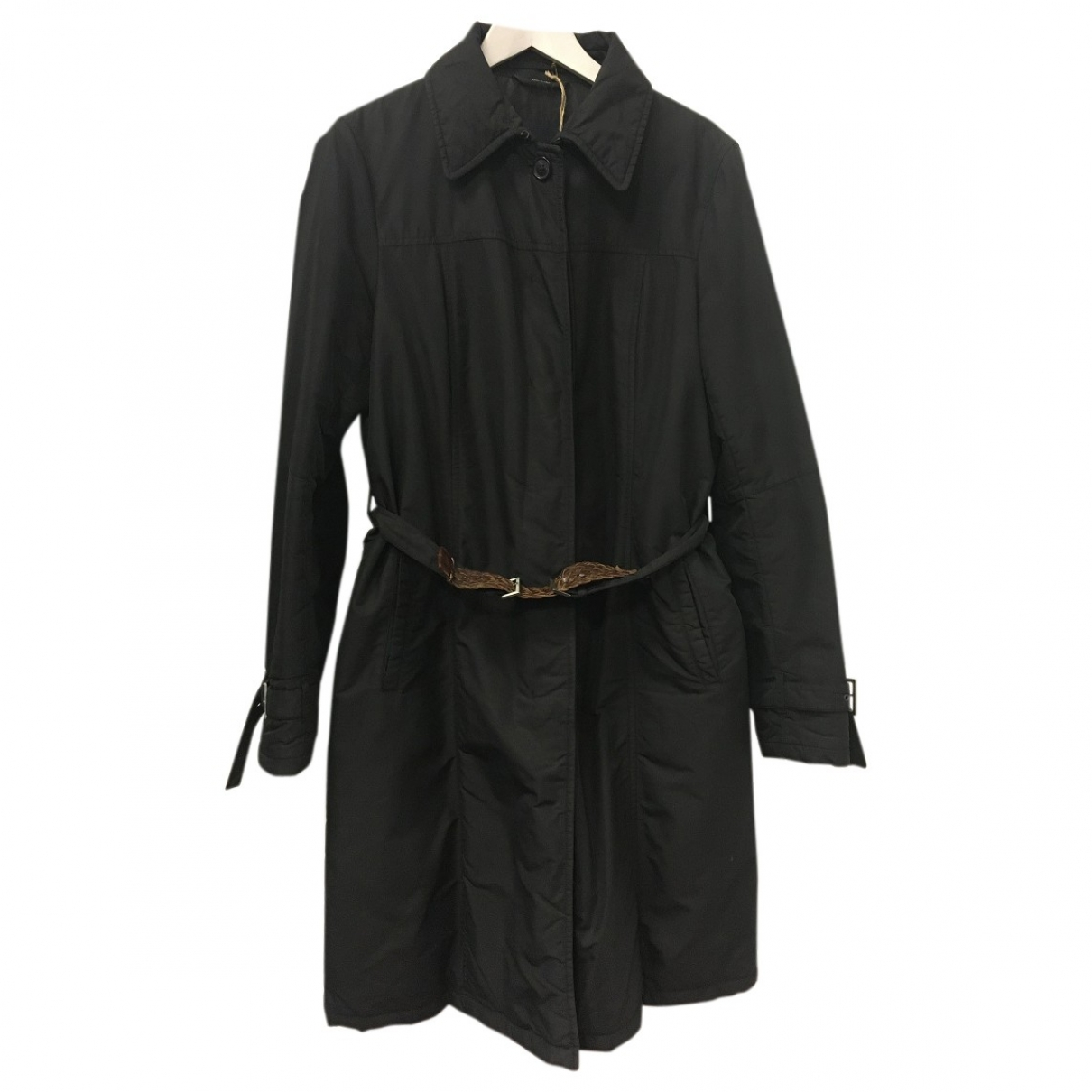 Max Mara 's \N Black coat for Women 46 IT