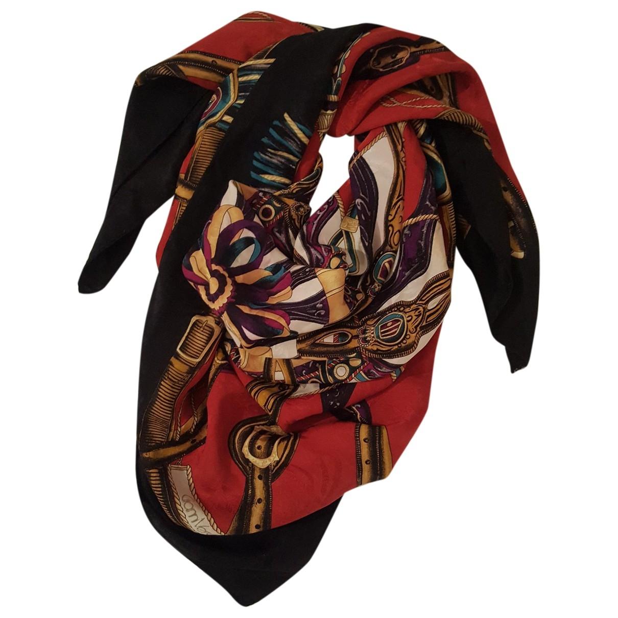 Gianni Versace \N Red Silk scarf for Women \N
