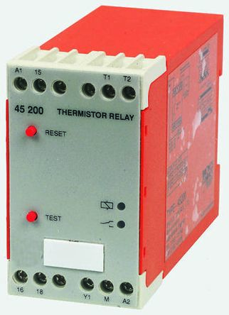 Broyce Control Temperature Monitoring Relay With SPDT Contacts, 110 V ac Supply Voltage