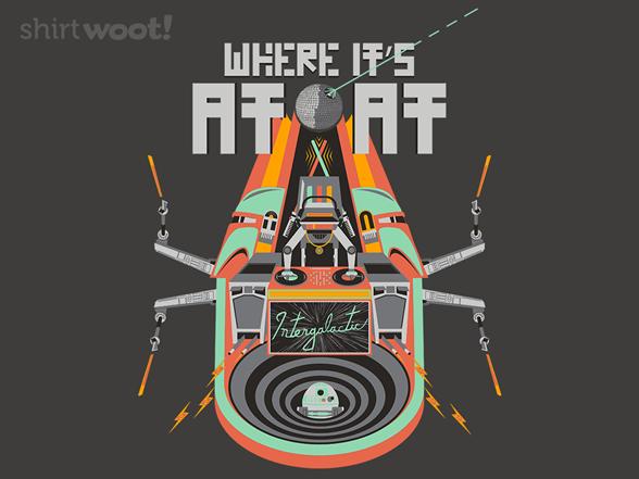 Where It's At-at T Shirt