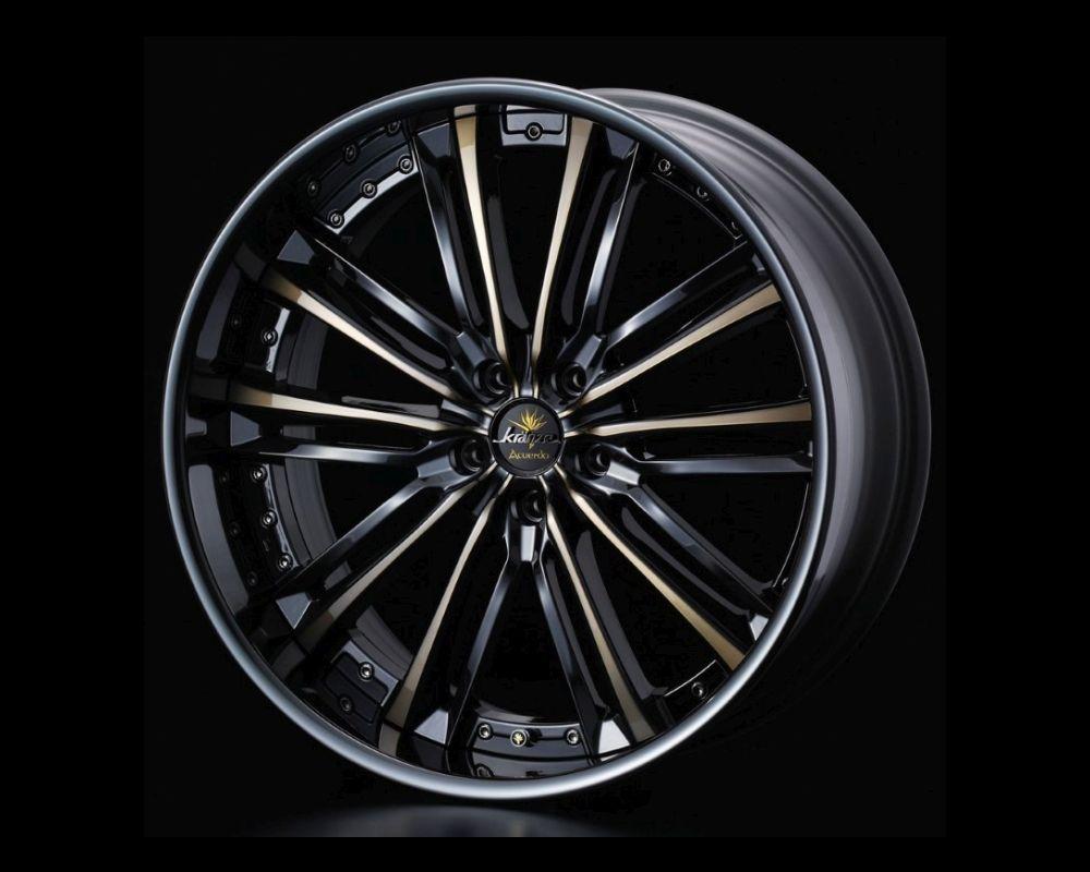 Weds Kranze Acuerdo LDISK Wheel 22x11.5 5x114.3 36mm Reverse Rim