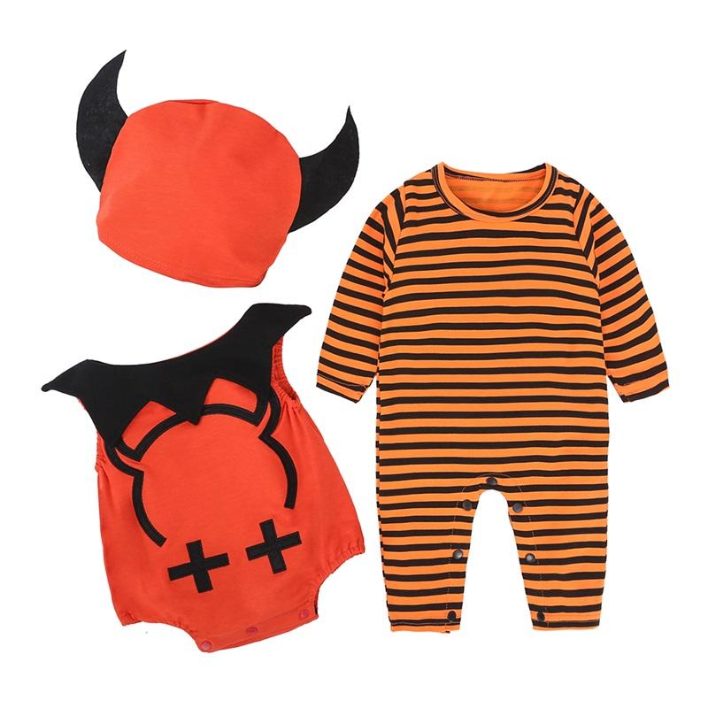 Cute Little Devil Shape Halloween Cotton Material Baby Costume