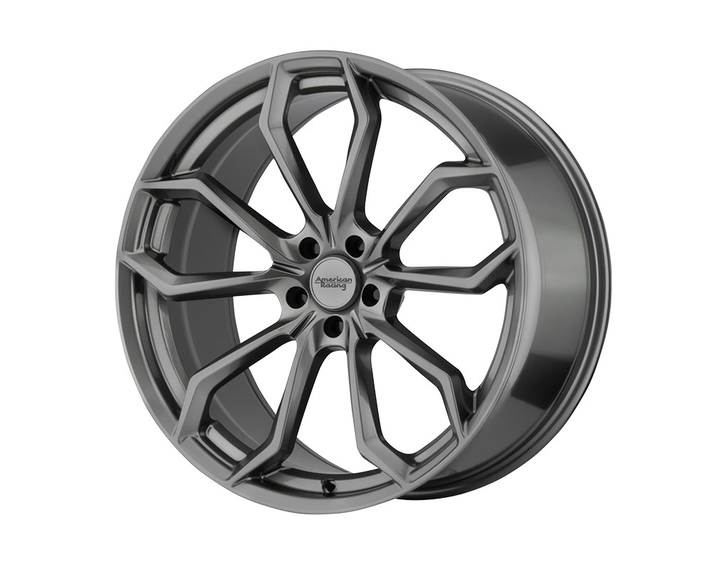American Racing AR932 Splitter Wheel 22x10.5 5x5x115 +25mm Graphite