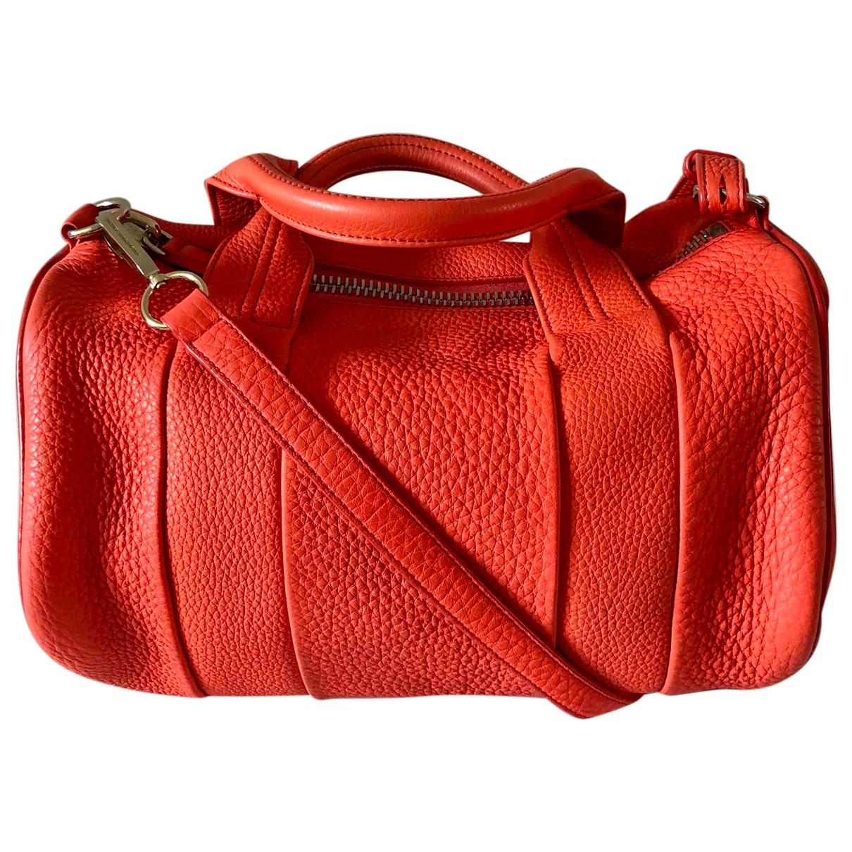 Alexander Wang Rocco Orange Leather handbag for Women \N