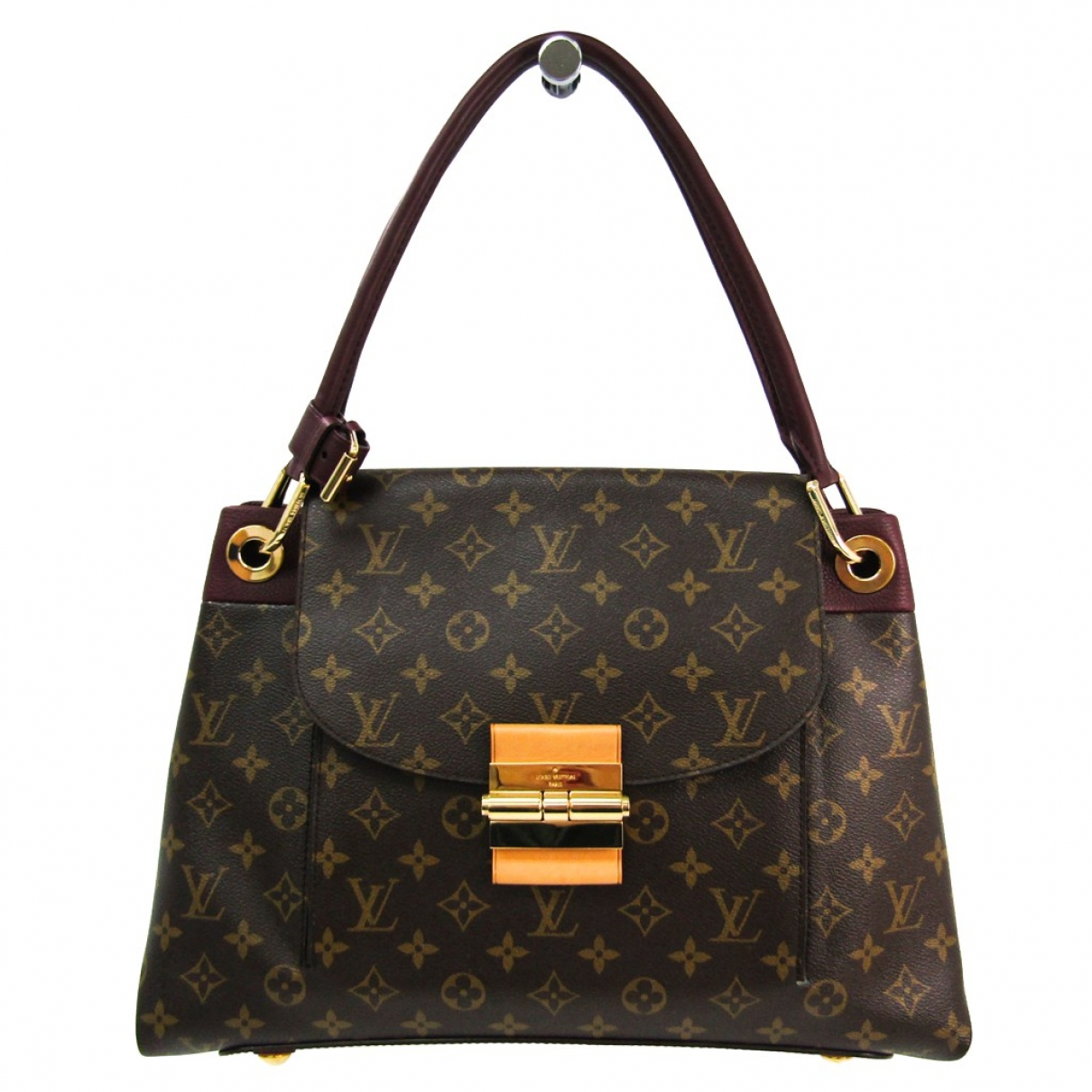 Louis Vuitton Olympe Brown Cloth handbag for Women \N