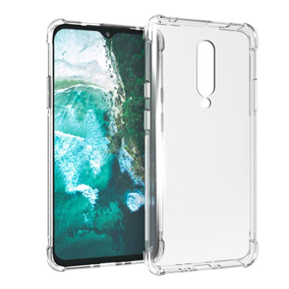 Soft Phone Case for Oneplus 7 Protective Air Shell Silicon Back Cover - Transparent