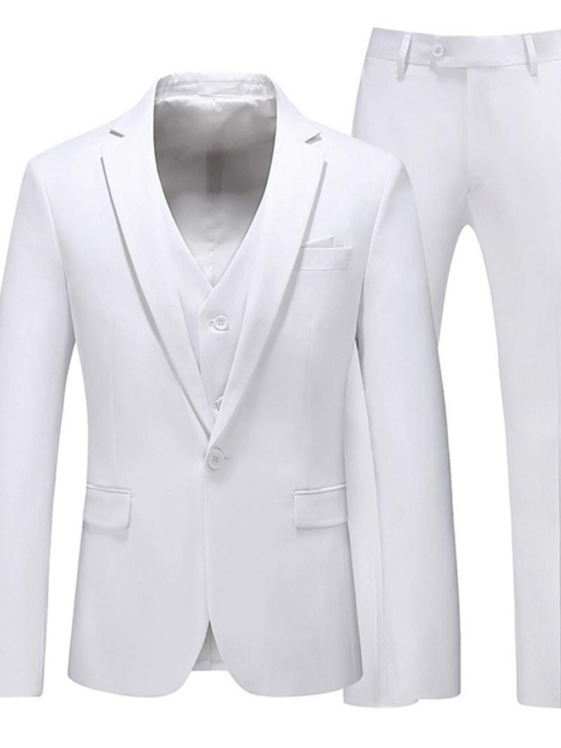 Ericdress Plain Pants Formal Dress Suit