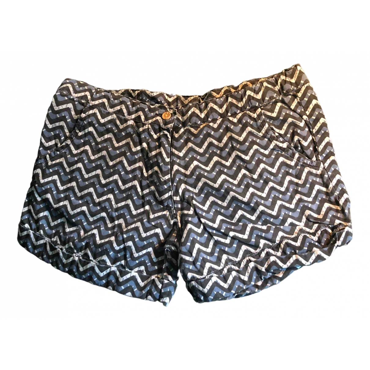 Zef \N Blue Cotton Shorts for Kids 10 years - up to 142cm FR