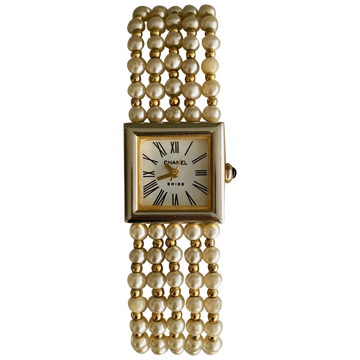 Chanel Mademoiselle Gold plated watch for Women \N