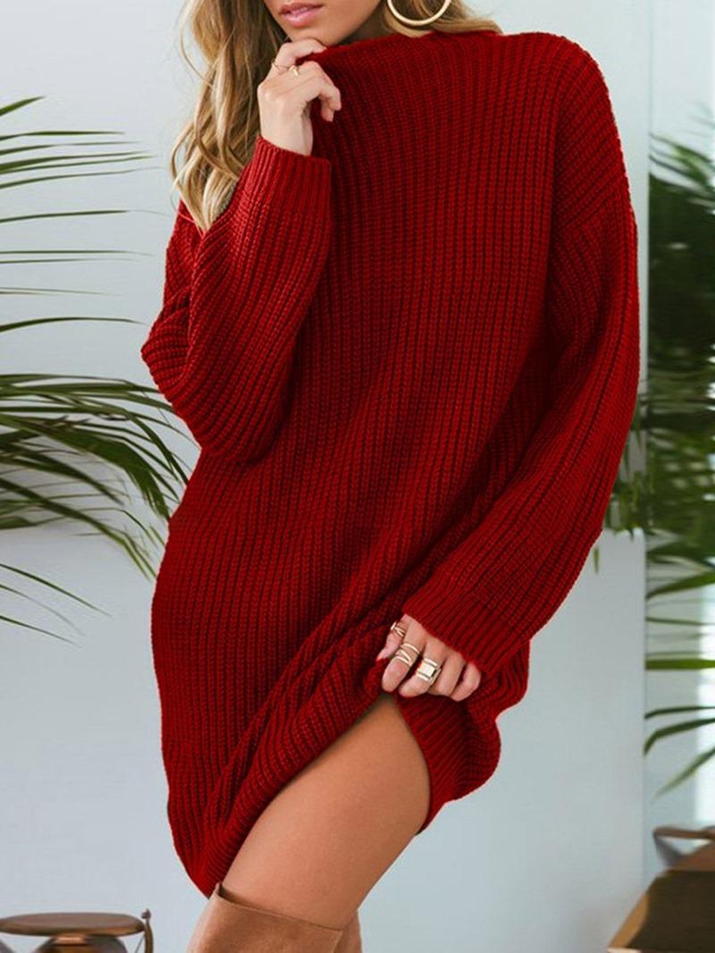 Ericdress Regular Loose Mid-Length Sweater