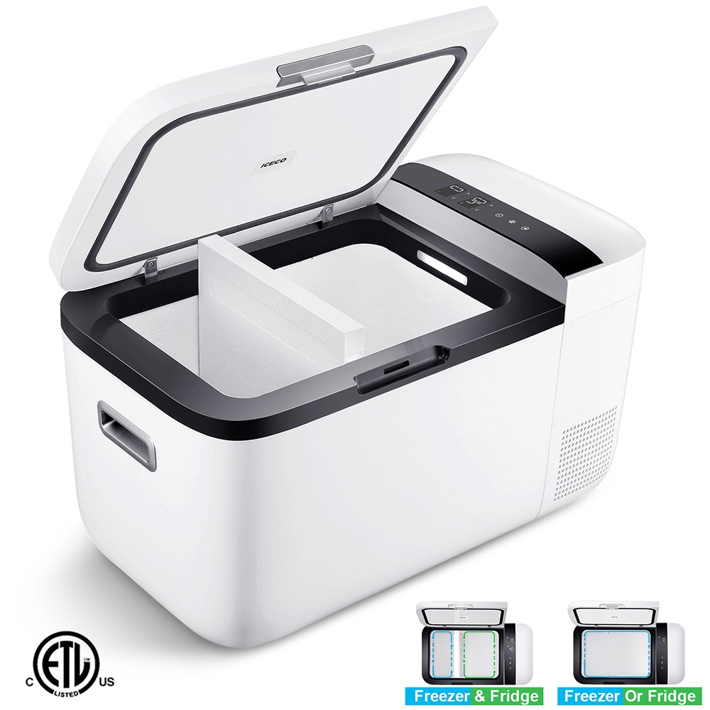 ICECO GO20 Portable Smart Refrigerator 20L Capacity White