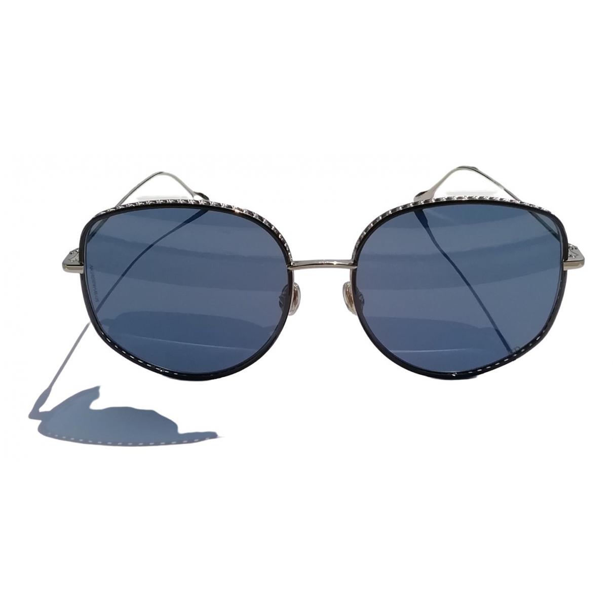 Dior Diorbydior2 Silver Metal Sunglasses for Women \N