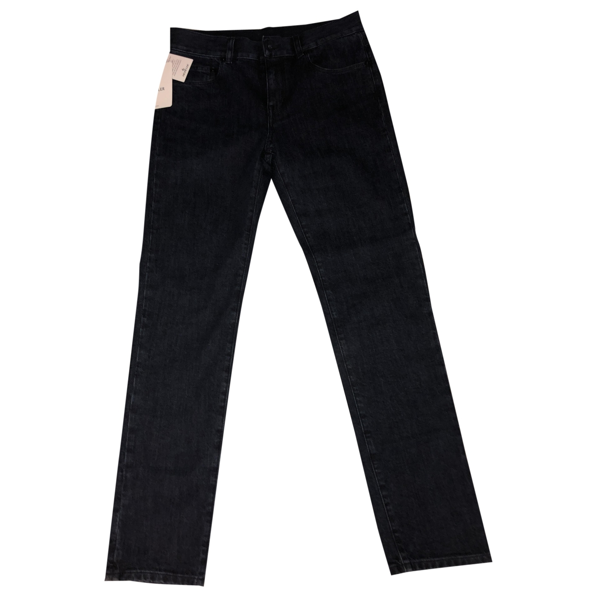 Moncler \N Blue Cotton Trousers for Kids 12 years - XS FR