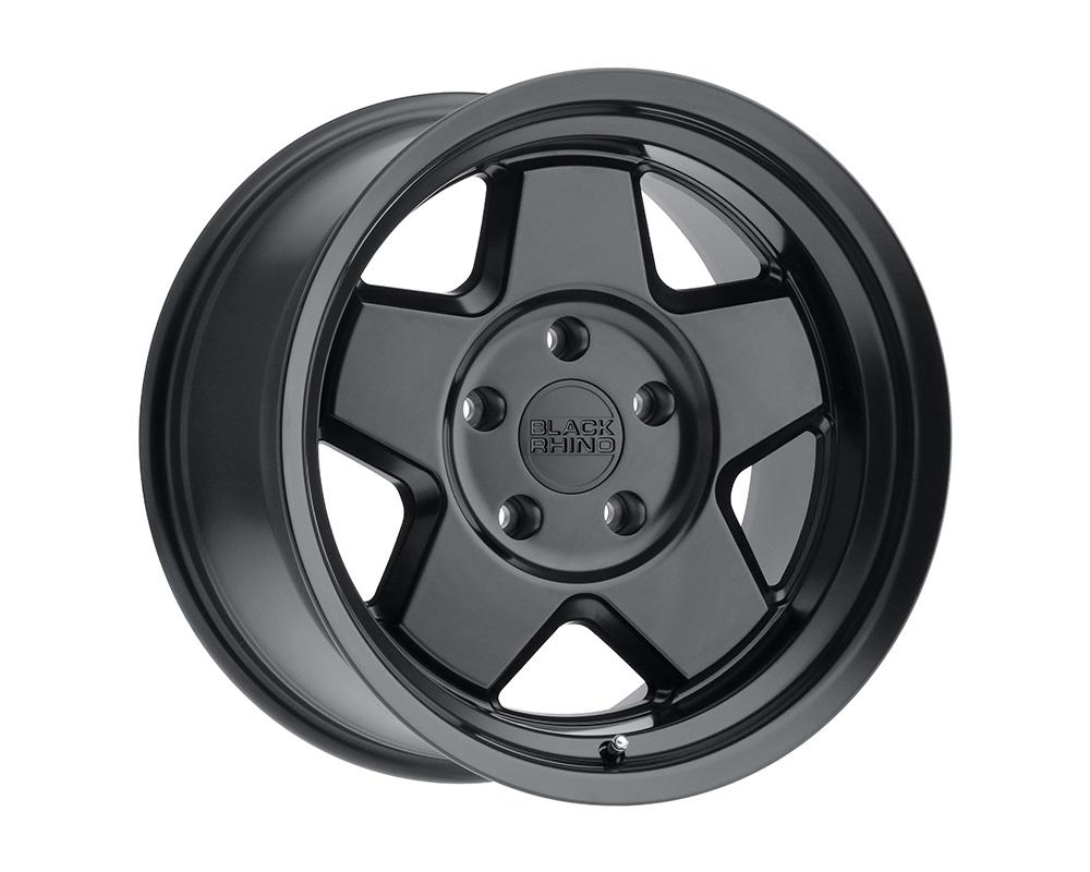 Black Rhino Realm Wheel 18x9.5  5x127 0mm Semi Gloss Black