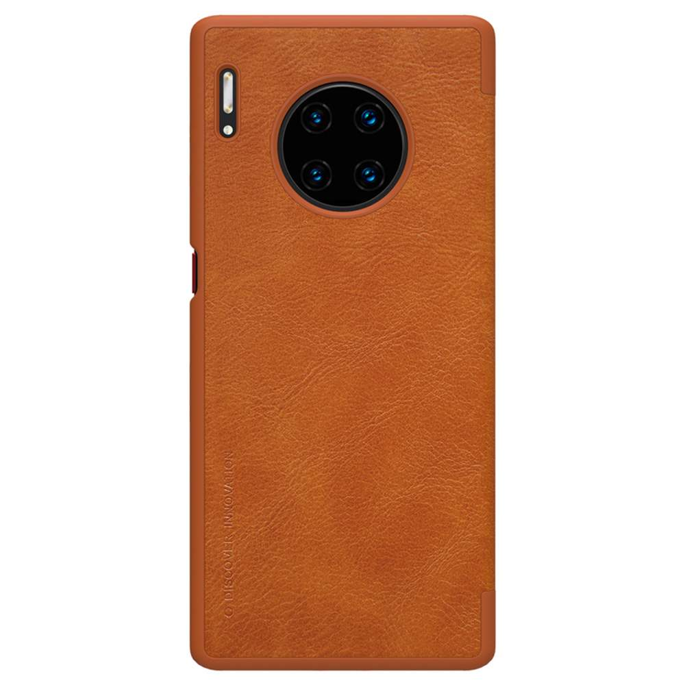 NILLKIN Protective Leather Phone Case For HUAWEI Mate 30 Pro Smartphone - Brown