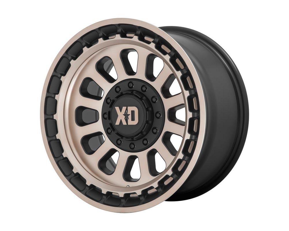 XD Series XD85621067618N XD856 Omega Wheel 20.00x10.00 6X135/5.5 -18 Satin Black w/Bronze Tint