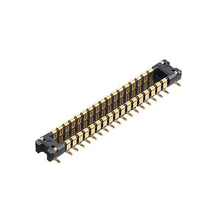 Panasonic , S35, 10 Way, 2 Row, Straight PCB Header (500)