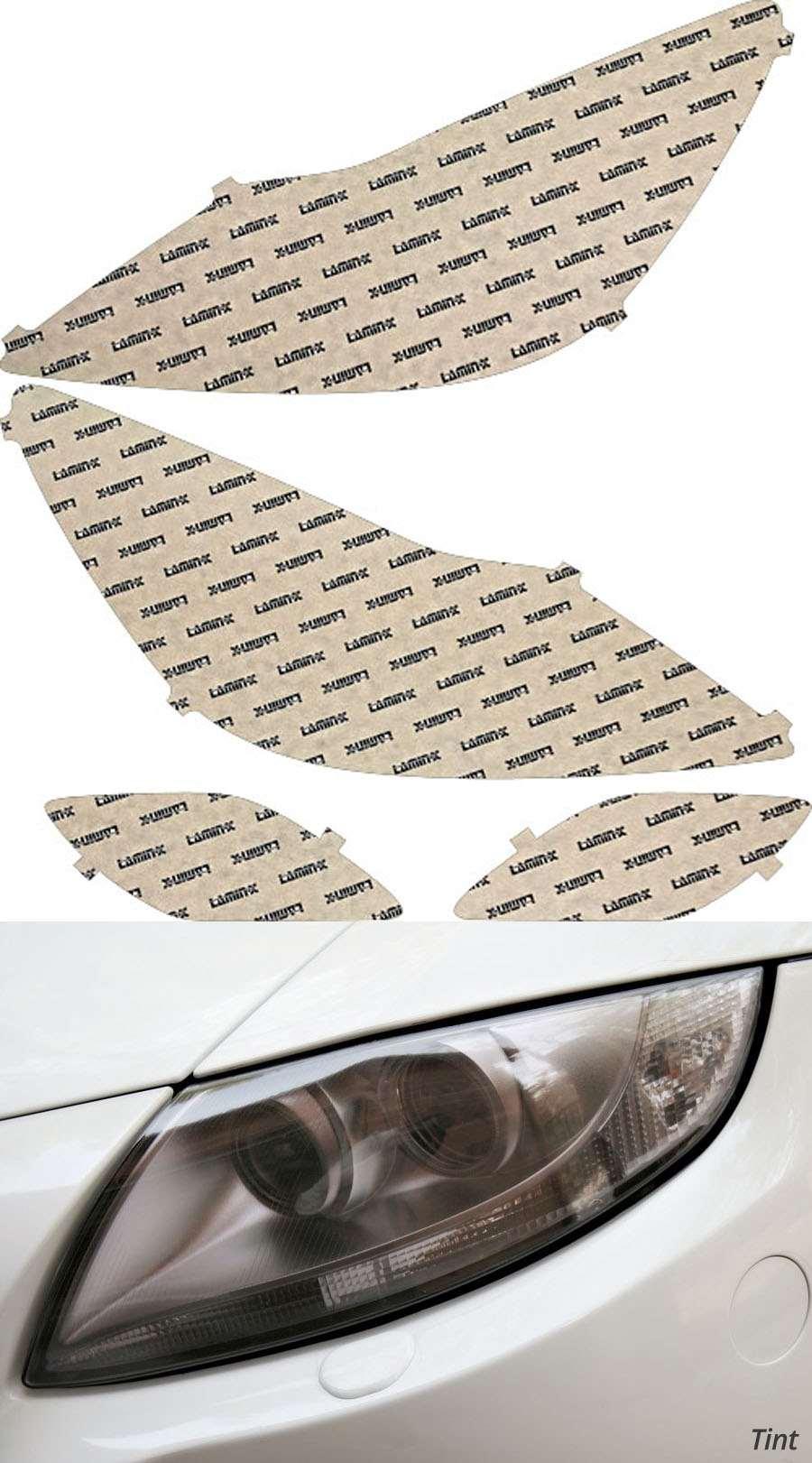 Hyundai Genesis Sedan 12-14 Tint Headlight Covers Lamin-X HY018T