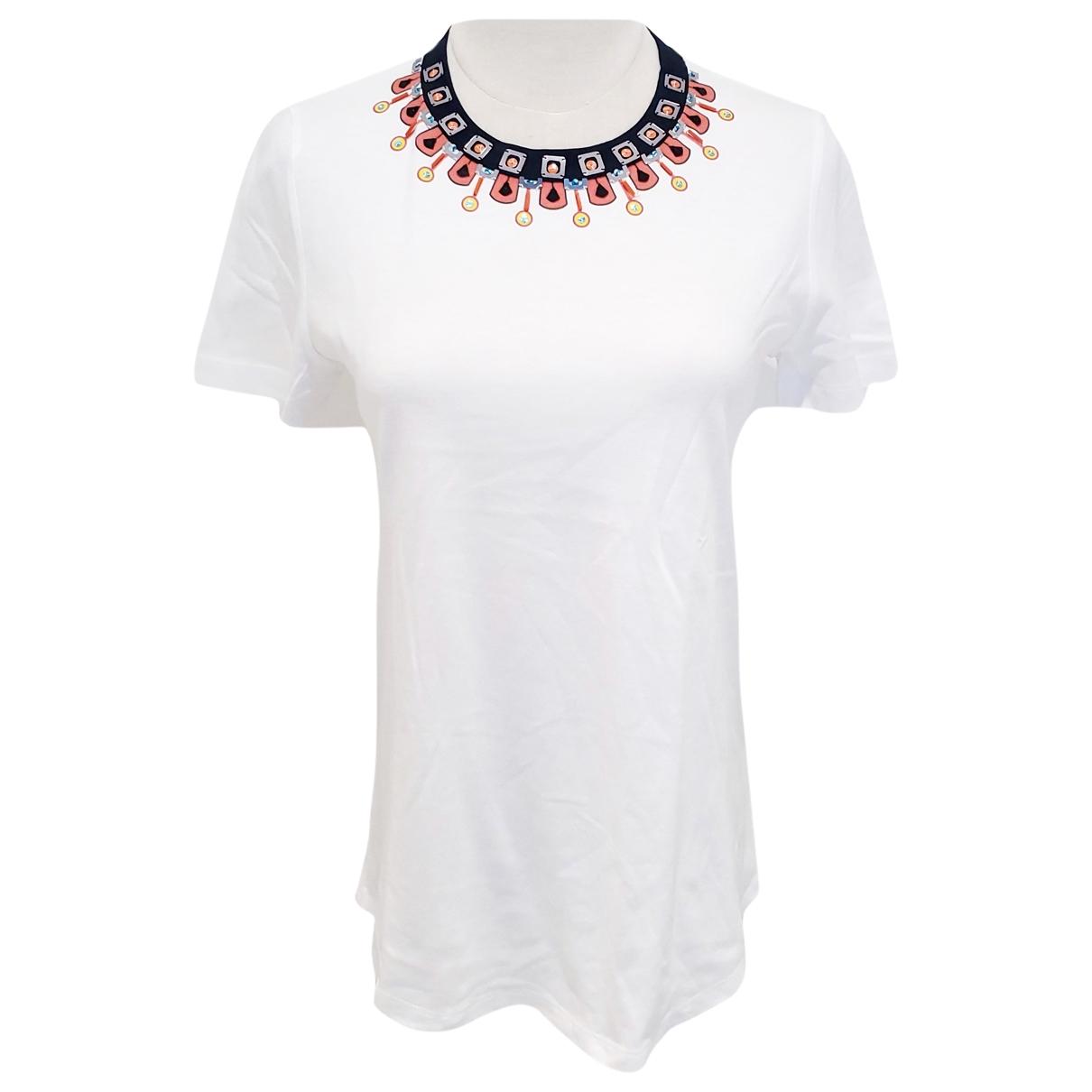 Jil Sander \N White Cotton  top for Women S International