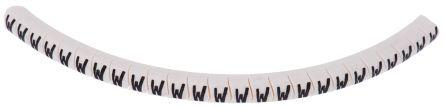 HellermannTyton , Helagrip Series Black on White PVC Cable Ties, 3.5mm x 4.3 mm