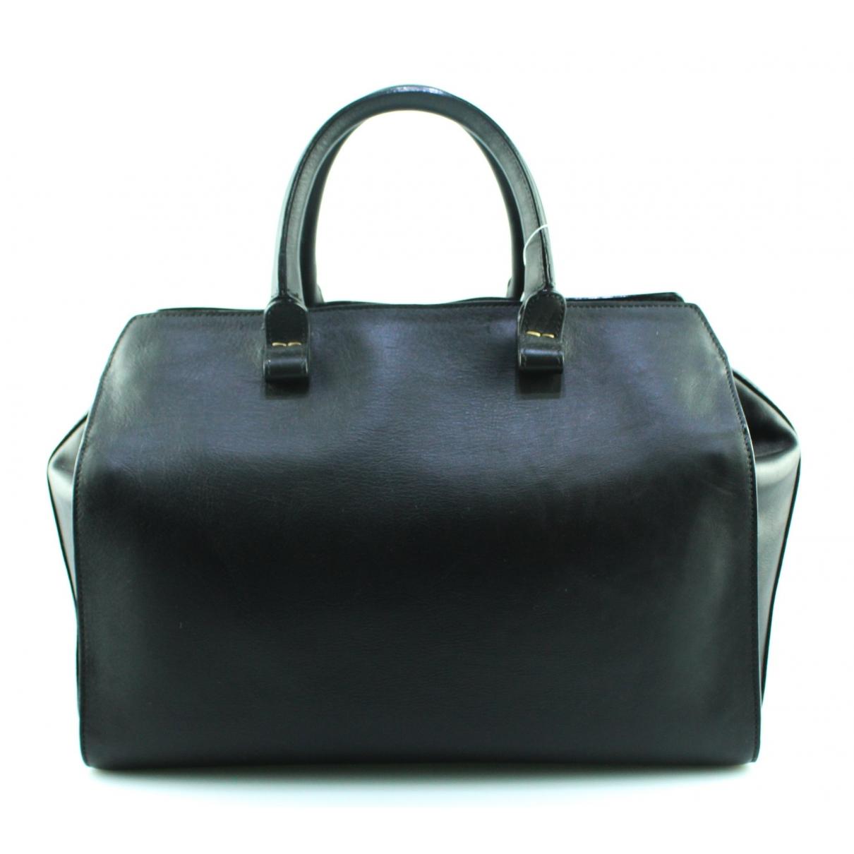 Victoria Beckham Victoria Black Leather handbag for Women \N