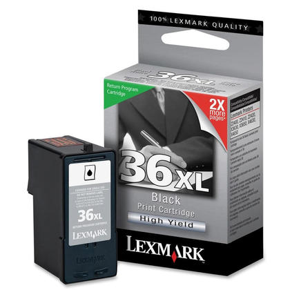 Lexmark 36XL 18C2170 18C2210 Original Black Ink Cartridge High Yield