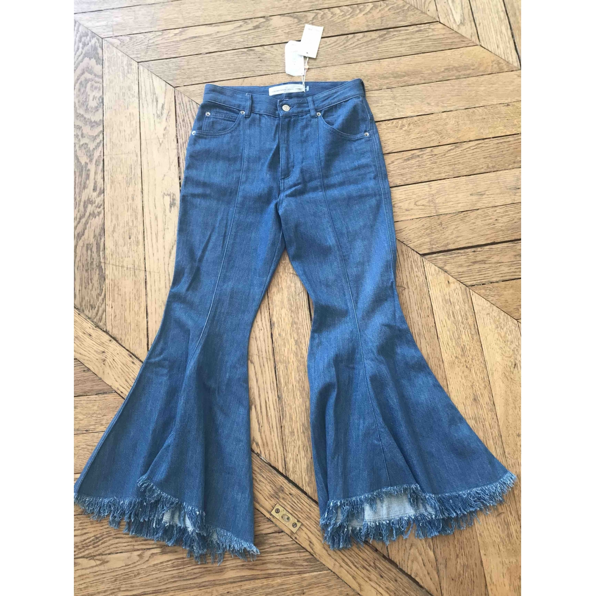 Golden Goose \N Blue Denim - Jeans Jeans for Women 26 US