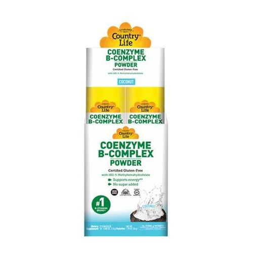 Coenzyme B-Complex Coconut 30 packets by Country Life