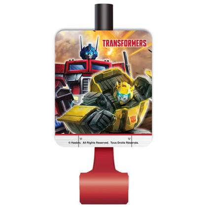 Transformers 8 Blowouts For Birthday Party
